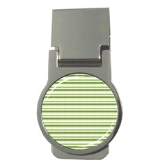 Spring Stripes Money Clips (round)