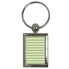 Spring Stripes Key Chains (rectangle)