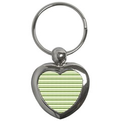 Spring Stripes Key Chains (heart)