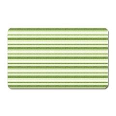Spring Stripes Magnet (rectangular)