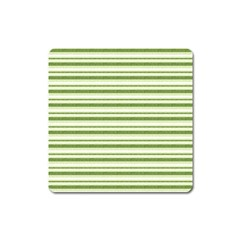 Spring Stripes Square Magnet
