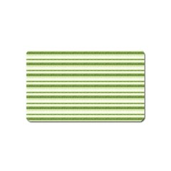 Spring Stripes Magnet (name Card)