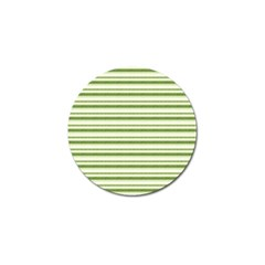 Spring Stripes Golf Ball Marker