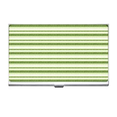 Spring Stripes Business Card Holders