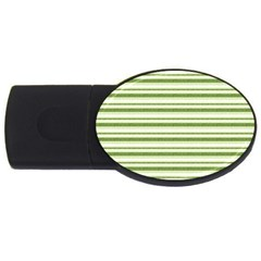 Spring Stripes Usb Flash Drive Oval (2 Gb)