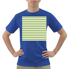 Spring Stripes Dark T Shirt