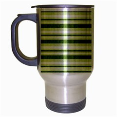 Spring Stripes Travel Mug (silver Gray)