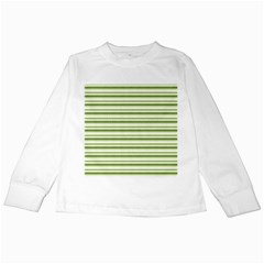Spring Stripes Kids Long Sleeve T Shirts