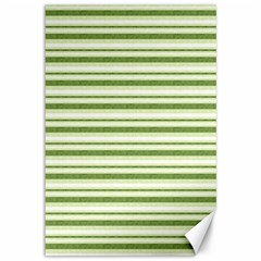 Spring Stripes Canvas 12  X 18