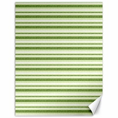 Spring Stripes Canvas 18  X 24