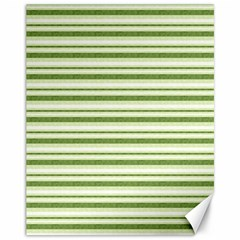 Spring Stripes Canvas 11  X 14
