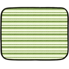 Spring Stripes Double Sided Fleece Blanket (mini)