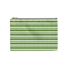 Spring Stripes Cosmetic Bag (medium)