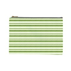 Spring Stripes Cosmetic Bag (large)
