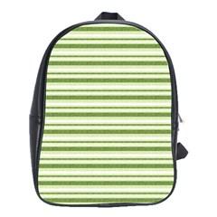 Spring Stripes School Bag (large)