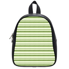 Spring Stripes School Bag (small)