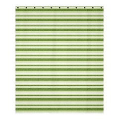 Spring Stripes Shower Curtain 60  X 72  (medium)