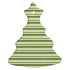 Spring Stripes Christmas Tree Ornament (two Sides)