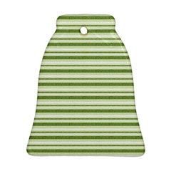 Spring Stripes Bell Ornament (two Sides)