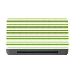 Spring Stripes Memory Card Reader With Cf
