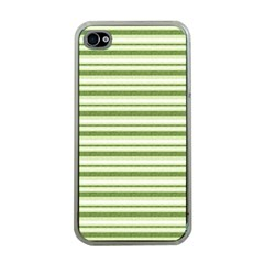 Spring Stripes Apple Iphone 4 Case (clear)