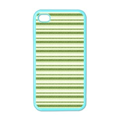 Spring Stripes Apple Iphone 4 Case (color)