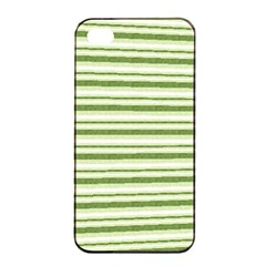 Spring Stripes Apple Iphone 4/4s Seamless Case (black)