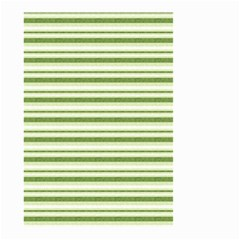 Spring Stripes Small Garden Flag (two Sides)
