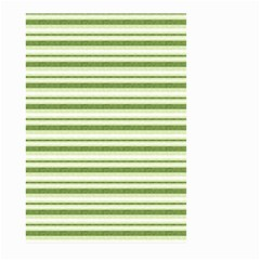 Spring Stripes Large Garden Flag (two Sides)