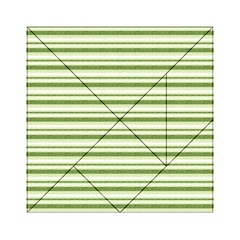 Spring Stripes Acrylic Tangram Puzzle (6  X 6 )