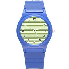 Spring Stripes Round Plastic Sport Watch (s)