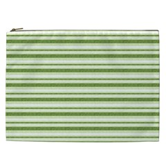 Spring Stripes Cosmetic Bag (xxl)