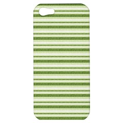 Spring Stripes Apple Iphone 5 Hardshell Case