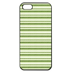 Spring Stripes Apple Iphone 5 Seamless Case (black)