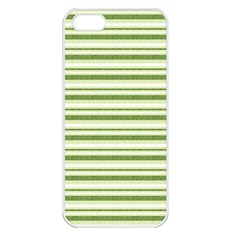 Spring Stripes Apple Iphone 5 Seamless Case (white)