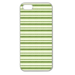Spring Stripes Apple Seamless Iphone 5 Case (clear)