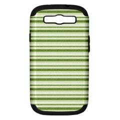 Spring Stripes Samsung Galaxy S Iii Hardshell Case (pc+silicone)