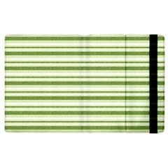 Spring Stripes Apple Ipad 2 Flip Case