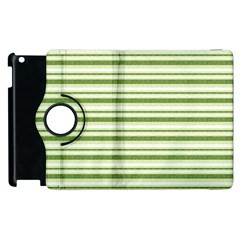Spring Stripes Apple Ipad 3/4 Flip 360 Case
