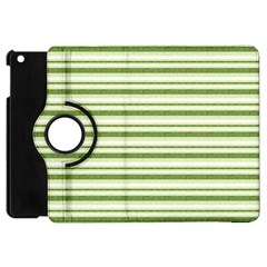 Spring Stripes Apple Ipad Mini Flip 360 Case