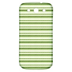 Spring Stripes Samsung Galaxy S3 S Iii Classic Hardshell Back Case