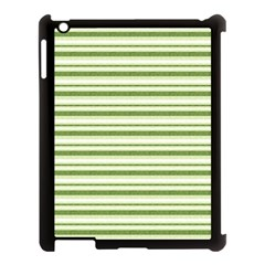 Spring Stripes Apple Ipad 3/4 Case (black)