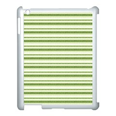 Spring Stripes Apple Ipad 3/4 Case (white)