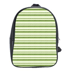 Spring Stripes School Bag (xl)