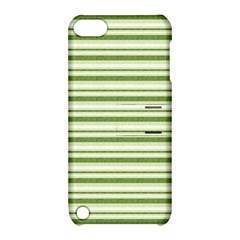 Spring Stripes Apple Ipod Touch 5 Hardshell Case With Stand