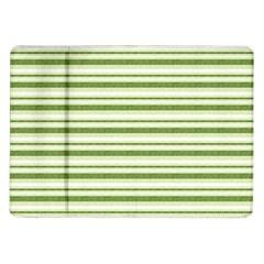 Spring Stripes Samsung Galaxy Tab 10 1  P7500 Flip Case