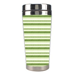 Spring Stripes Stainless Steel Travel Tumblers