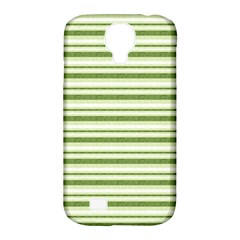 Spring Stripes Samsung Galaxy S4 Classic Hardshell Case (pc+silicone)