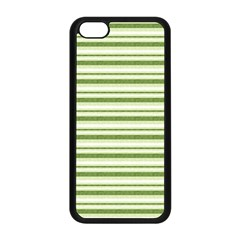 Spring Stripes Apple Iphone 5c Seamless Case (black)