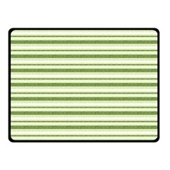 Spring Stripes Double Sided Fleece Blanket (small)
